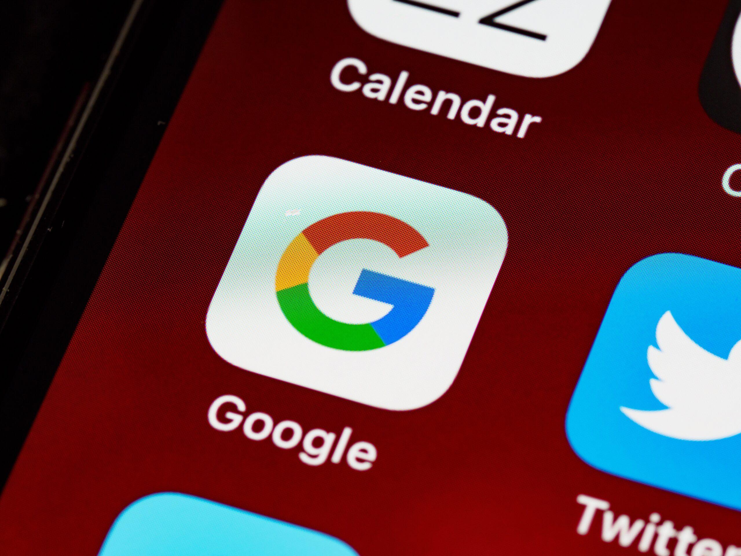 rapporto ricerche google 2020