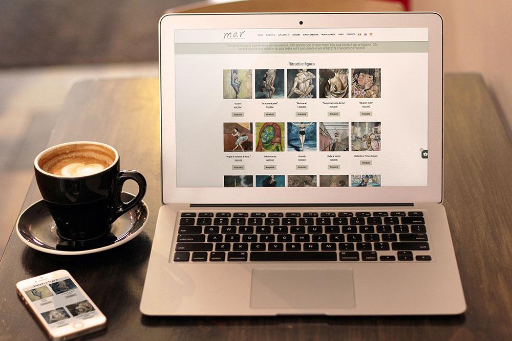 Magaly Arocha Rivas E-commerce per artisti shop online
